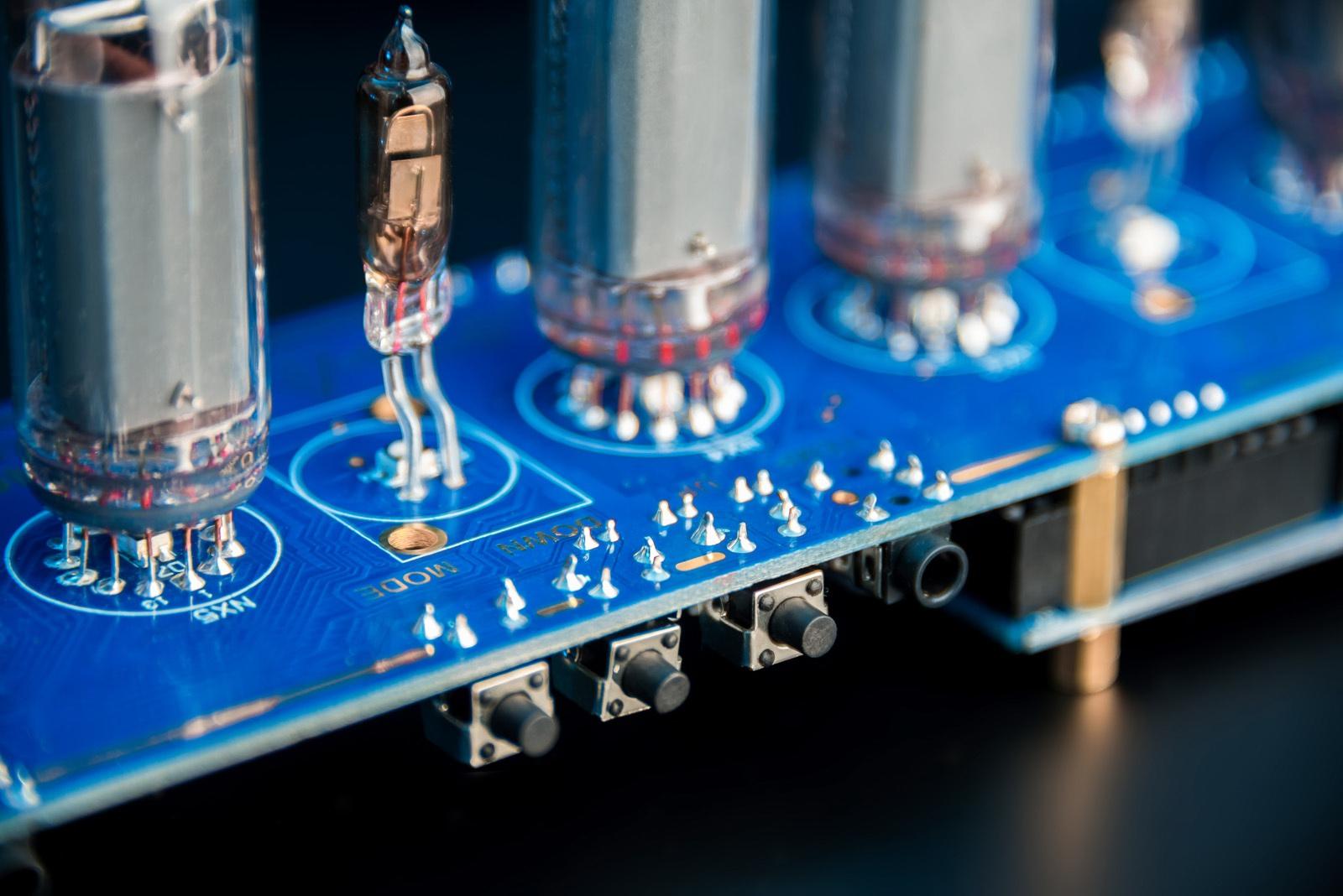 DIY KIT for Arduino Shield NCS314 IN-14 Nixie Tubes Clock
