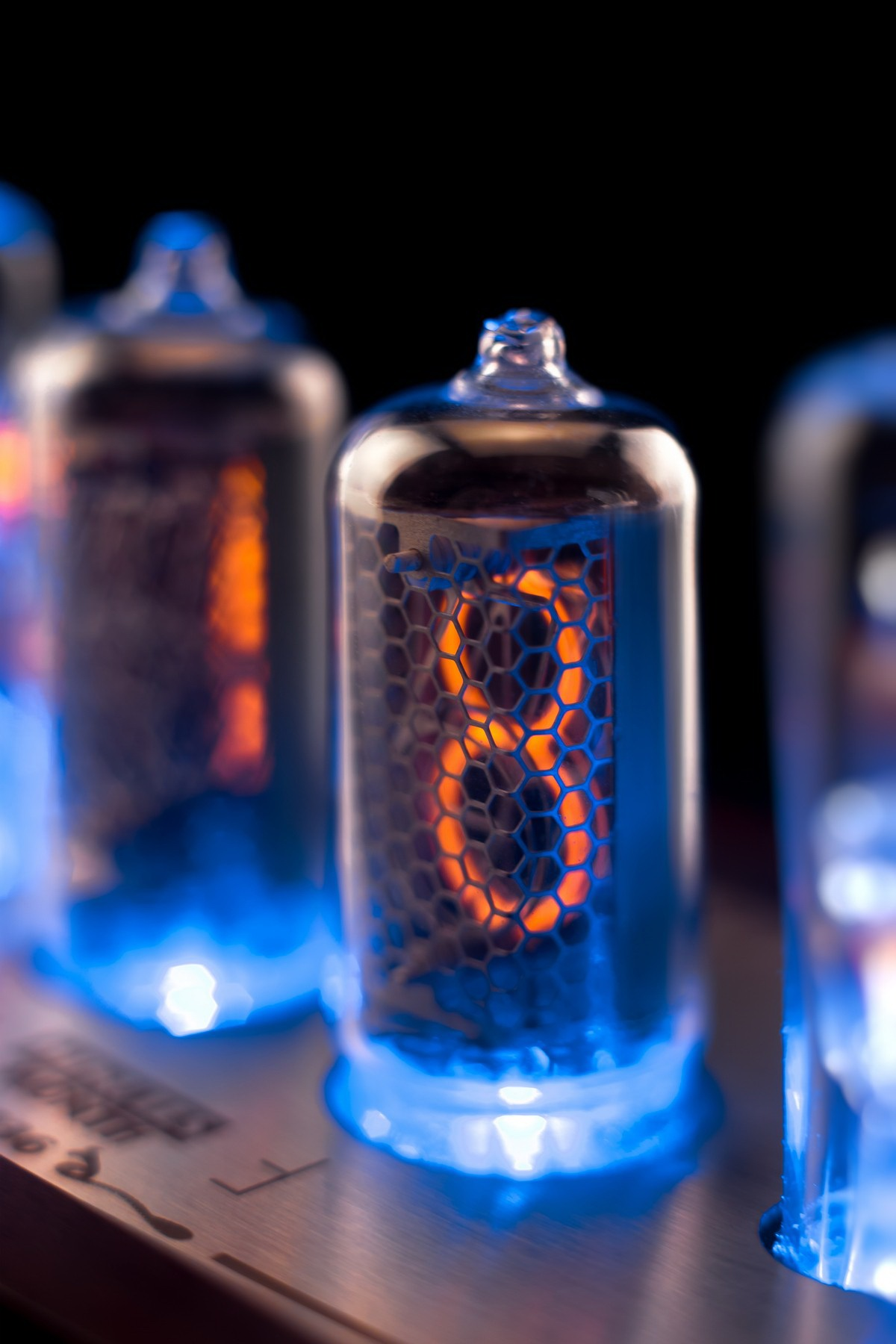 Divergence Meter with Sockets IN-8 NIXIE Tubes Clock GRA/&AFCH Music,USB,RGB