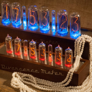Nixie Tubes Clocks in Cases