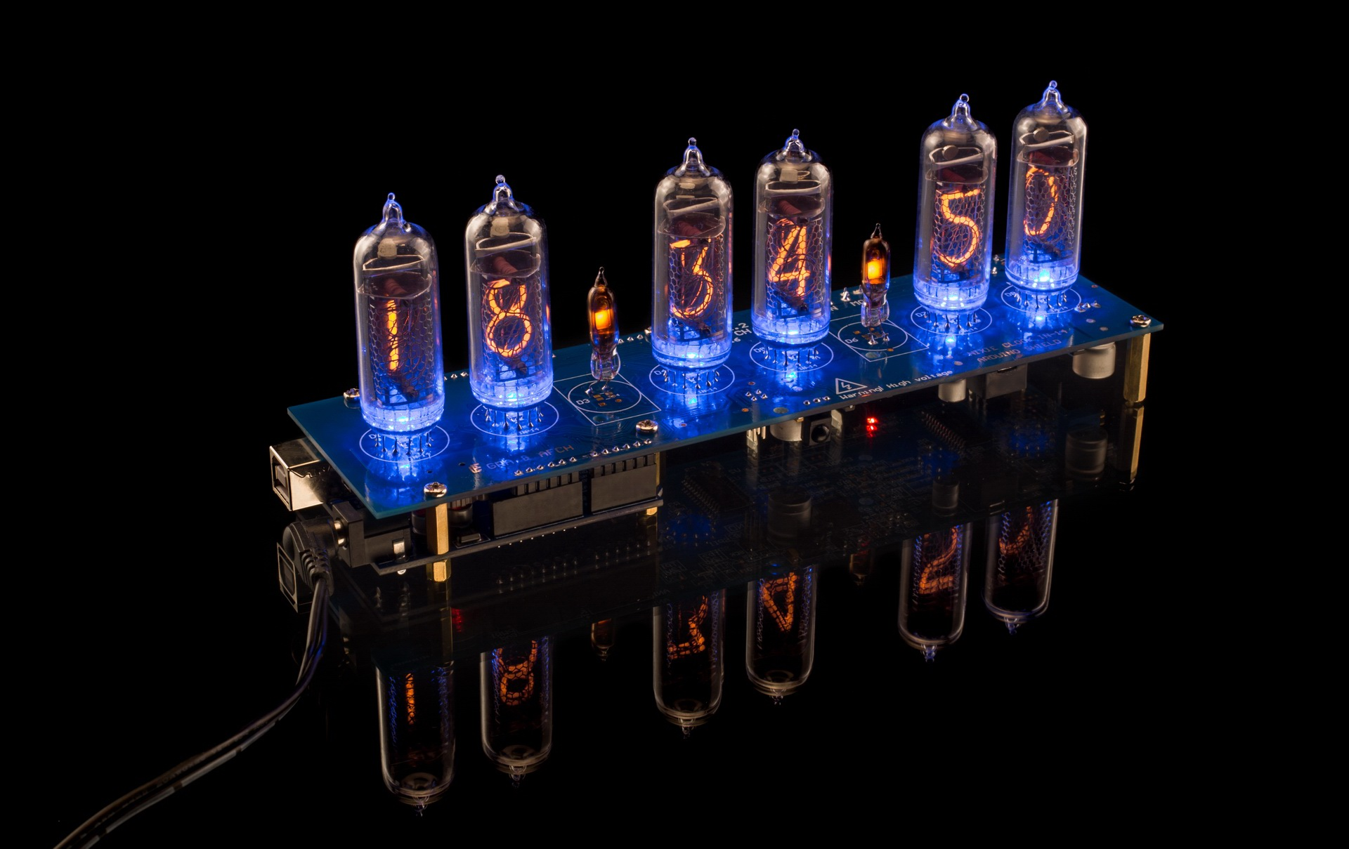 Nixie Tubes Clock Shiled for Arduino NCS314  Photo Gallery: