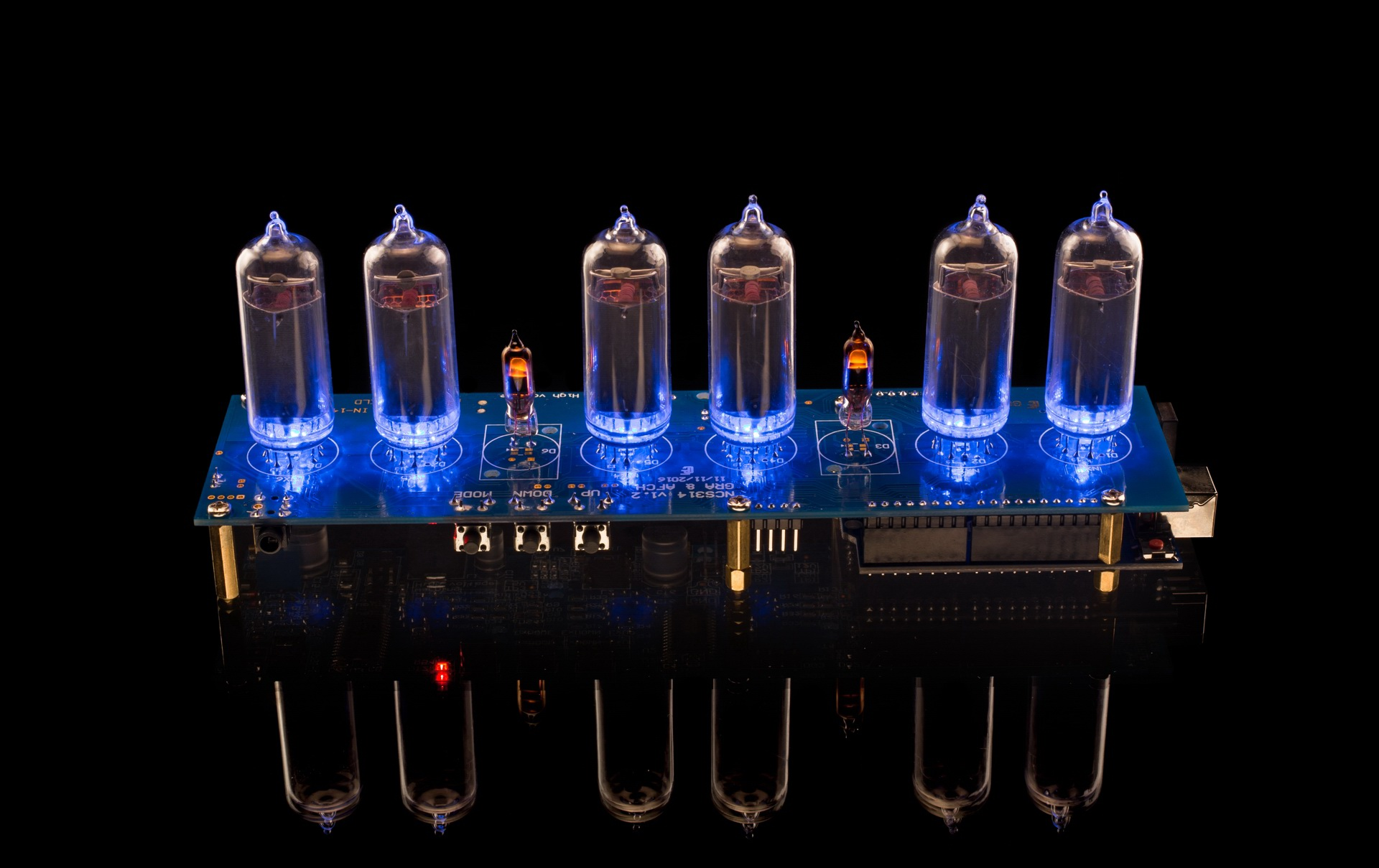 Diy Kit Nixie Tubes Clock Arduino Shield Ncs314 On In 14 Tube Further Schematic Shiled For Photo Gallery