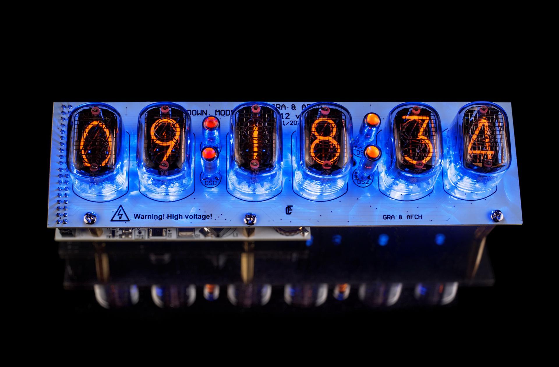 DIY KIT for IN-12 Nixie Tubes Clock