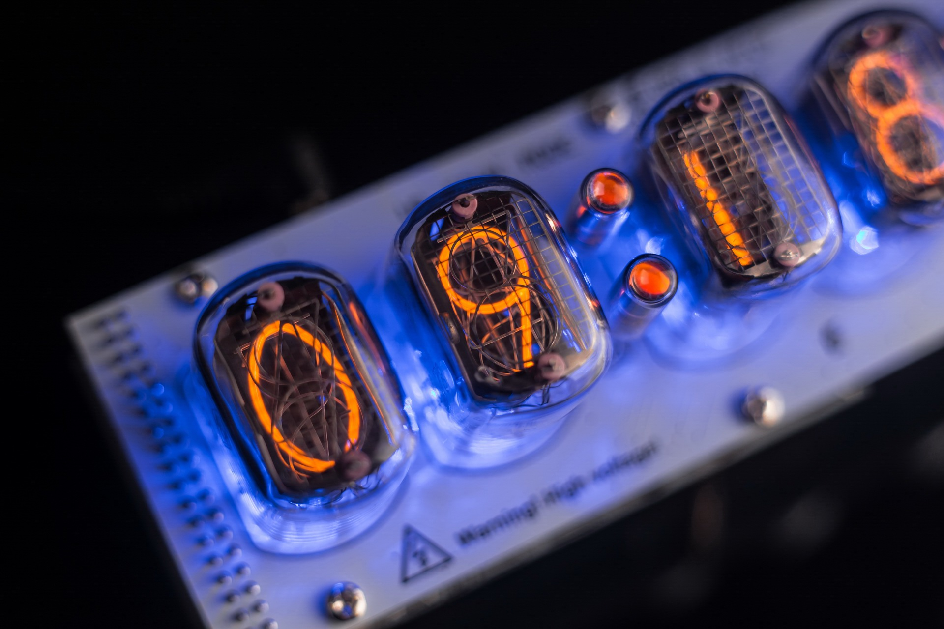 Diy Kit For Nixie Tubes Clocks In 12 Gra Afch Tube Clock Further On Schematic
