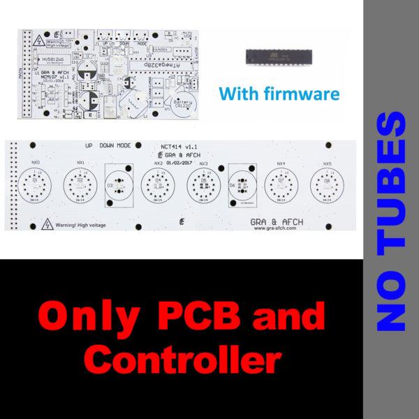 Bare PCB+Controller for DIY NIXIE Tube Clock IN-8, IN-8-2, IN-12, IN-14,  IN-16, IN-18, Z570, Z573, ZM1042, Z566 - USB, RGB, Musical, Arduino comp