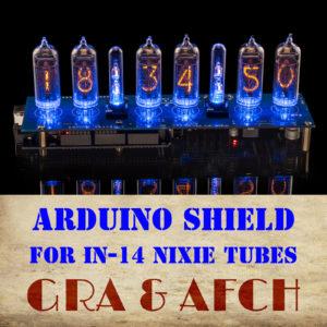 Arduino Shield Nixie Clocks