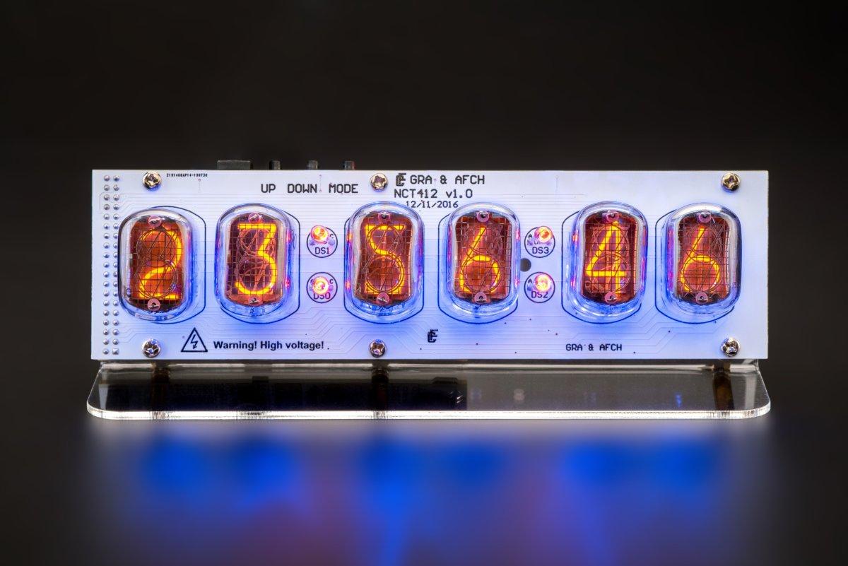 IN-12 Nixie Tubes Clock