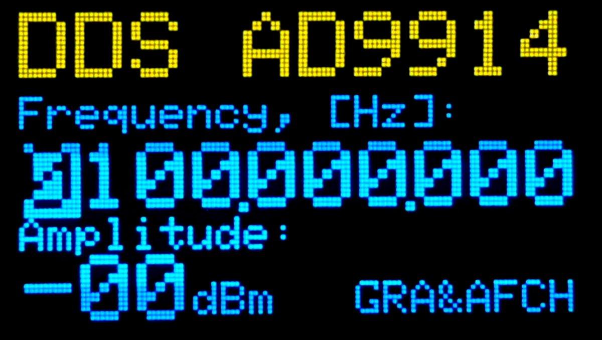 DDS AD9914 Arduino Shield