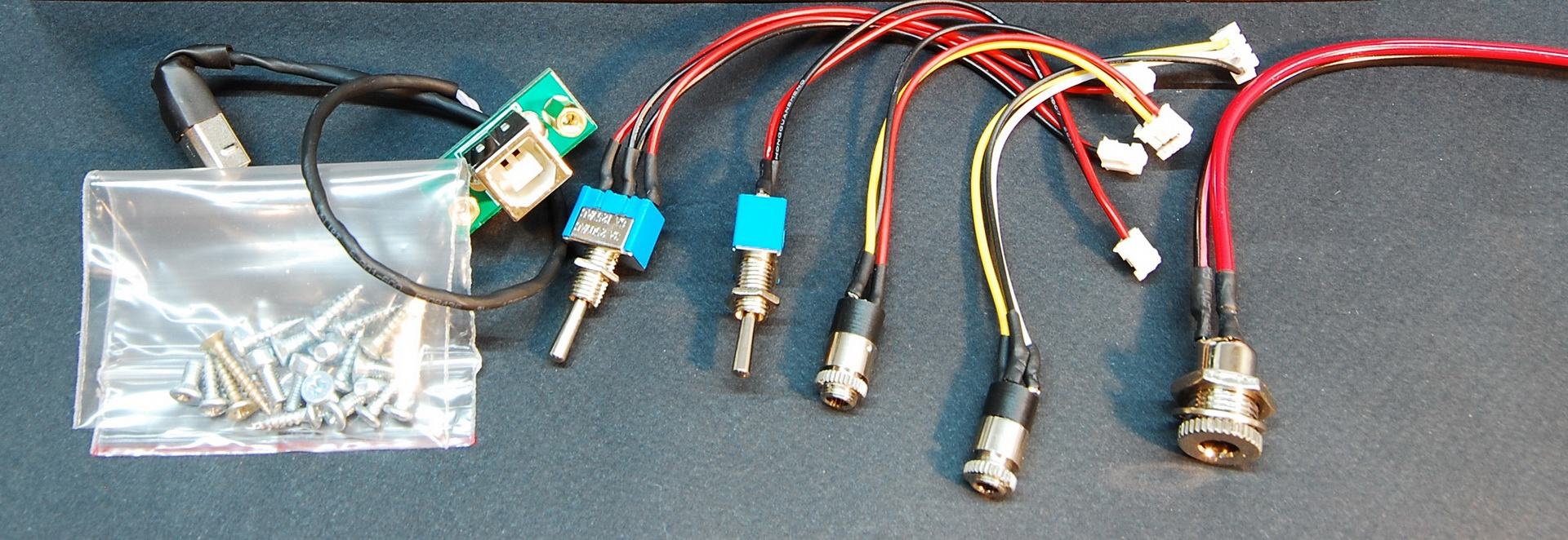 ZM1042 tubes Set of buttons and connectors for Big Wooden Case on IN-18 Z566